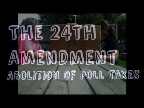 School Project: The 24th Amendment