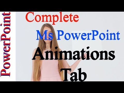Microsoft Office PowerPoint ANIMATION TAB All Option by Kshedang [Nepali]
