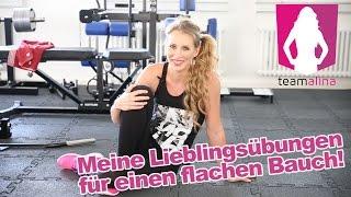 Meine BESTEN Übungen für einen flachen Bauch - Training für Frauen | www.size-zero.de