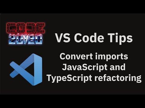 Convert imports JavaScript and TypeScript refactoring
