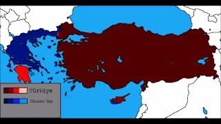 Alternatif Tarih:Türkiye-Yunanistan Savaşı:Bölüm 3[HARİTA][FİNAL]