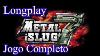 Longplay Metal Slug 7 (DS) - Jogo Completo (Dificuldade Normal)