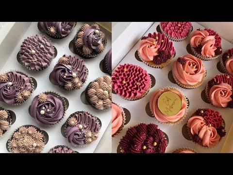 Cupcakes decorating designs. Cupcakes designs ideas