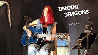 Imagine Dragons - Natural (acoustic cover by Sandra Szabo)