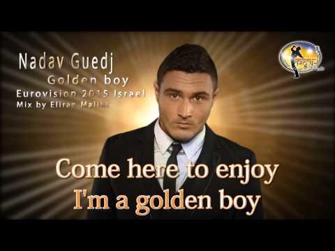 Nadav Guedj - Golden Boy (Karaoke Lyrics) Eurovision 2015 Israel