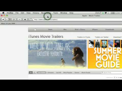 How to Download YouTube, Apple Trailers Direct from Browser