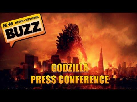 Godzilla Press Conference 12th May 2014