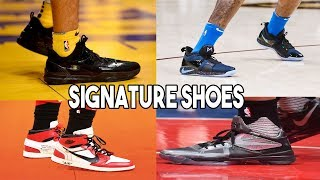 GUESS THE NBA PLAYER BY THEIR SIGNATURE SHOE