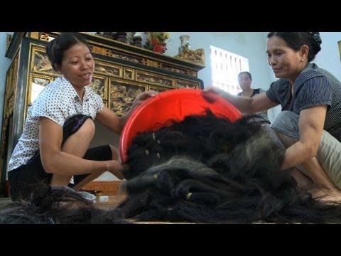 Vietnam: quand le commerce du cheveu enrichit tout un village