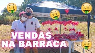 VENDENDO NA RUA COM BARRACA DE DOCES EM MEIO A PANDEMIA | DIA DOS NAMORADOS!!! - Lily Doces