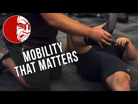 The one thing you need to do for better mobility is....