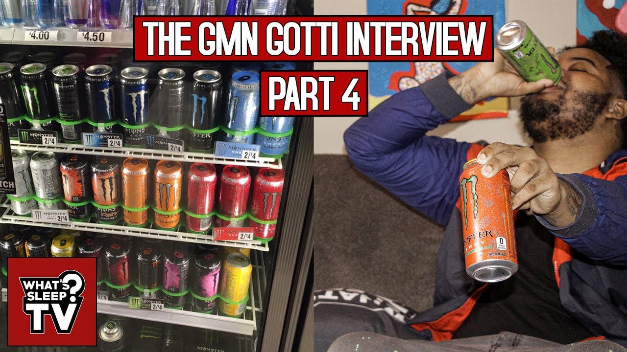 GMN Gotti Says He Drinks 4 Monster Energy Drinks A Day, Isn't Worried About The Health Issues