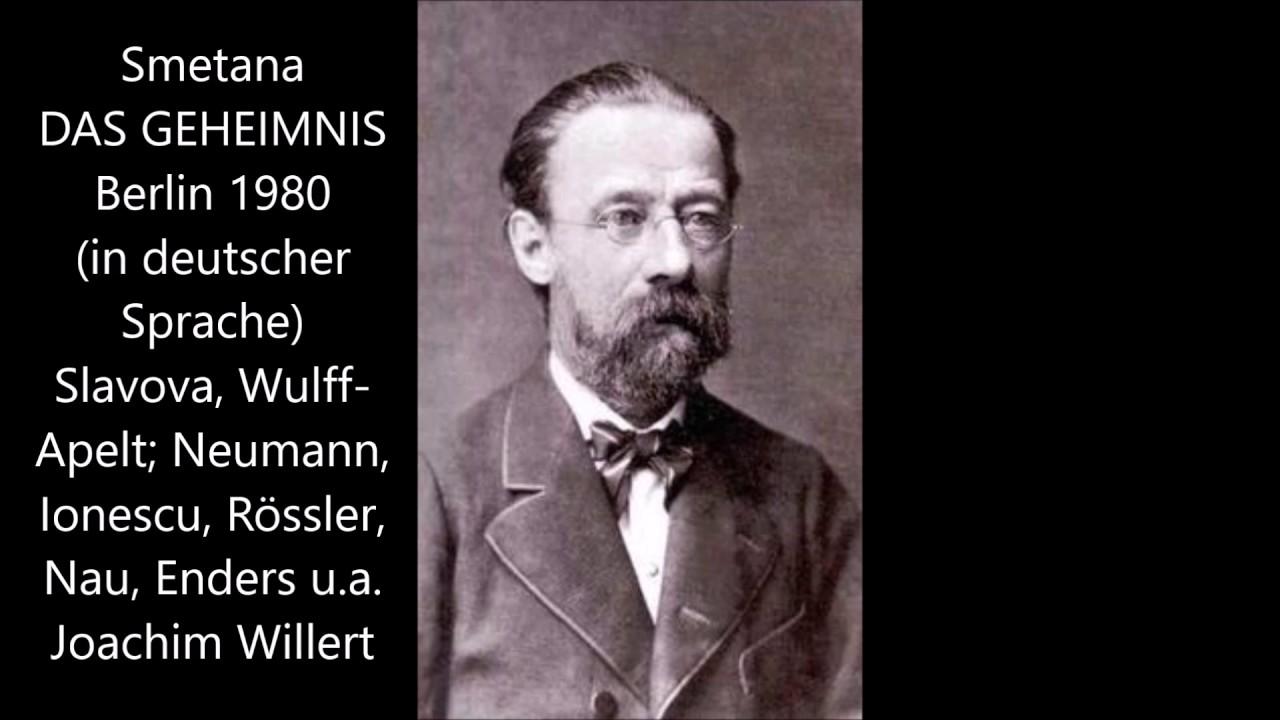 Smetana Das Geheimnis Berlin 1980 In Deutscher Sprache
