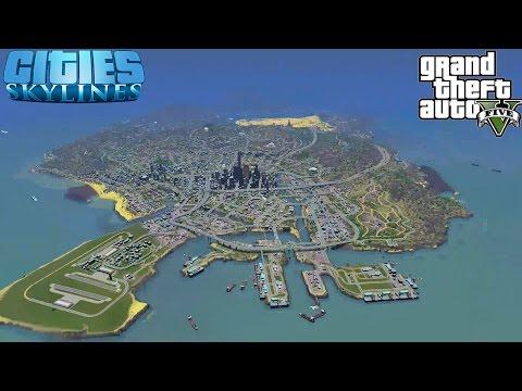 LOS SANTOS FLOOD - Cities Skylines