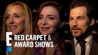 """""""Grey's Anatomy"""" Stars Give Scoop on Season 15   E! Red Carpet & Live Events"""