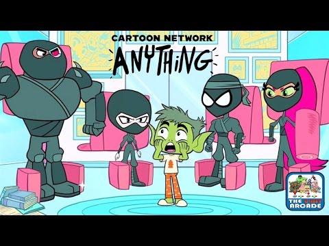 Cartoon Network Anything - Teen Ninjas Go!? (iOS/iPad Gameplay)