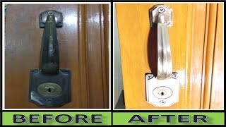 Video How to Clean and Restore the Antique Finish on DOOR LOCKs At Home download MP3, 3GP, MP4, WEBM, AVI, FLV Juli 2018