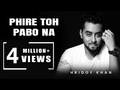 hridoy khan new songs 2016 Phire To Pabona -...
