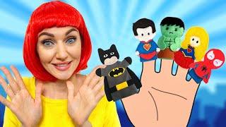 Superhero Finger Family Song | Kids Songs & Nursery Rhymes