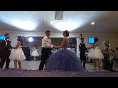 Paulina's Quince 10/7/17 - Waltz/Surprise Dance (Can't Stop the Feeling,Shape of You)