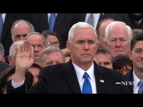 Mike Pence Takes Oath of Office | ABC News