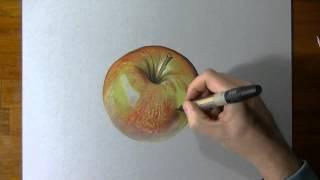Лучший художник,Рисует яблоко,/ Excellent apple 2015,#нереально(By Marcello Barenghi лучшая партнерка http://join.air.io/Dengymnogo., 2015-06-03T08:56:21.000Z)