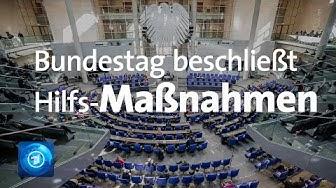 Corona-Krise: Bundestag beschließt Milliardenhilfen und Aussetzung der Schuldenbremse