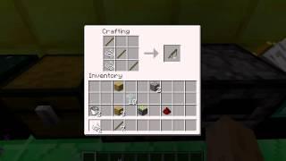 Как сделать удочку в Minecraft рецепты майнкрафт