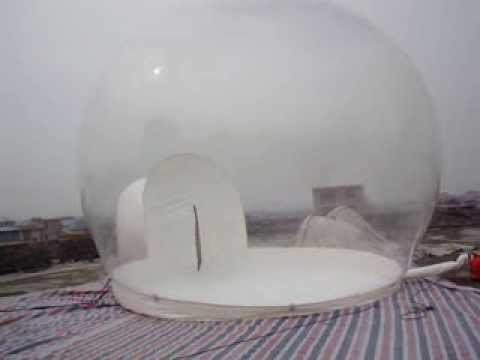 inflatable bubble tent for outdoor camping,inflatable snow globe for event decoration