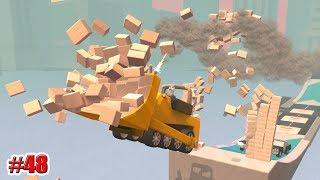 РАЗРУШИТЕЛЬ СТЕН!!! Turbo Dismount (48 серия)