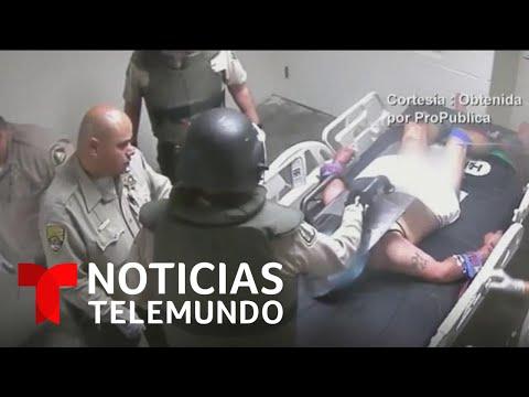 Surge un nuevo caso de brutalidad policial ante un detenido latino en California | Noticia Telemundo
