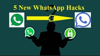 5 New WhatsApp Hacks of 2017 || WhatsApp  टिप्स in Hindi || Tips in Hindi