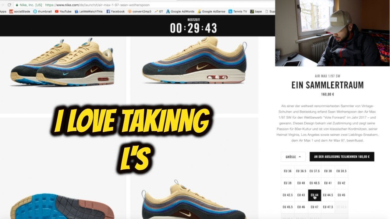 *LIVE COP* Nike Air Max 197 VF Sean Wotherspoon!!!