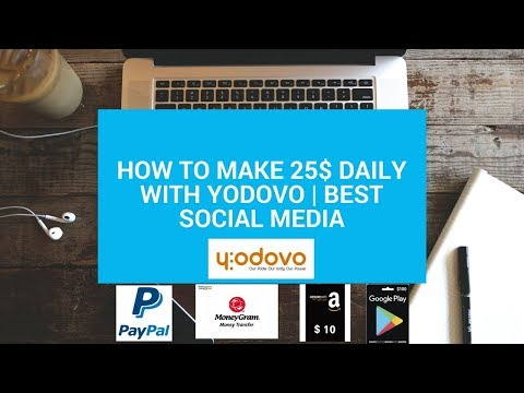 How to make 25$ daily with Yodovo | Best Social media