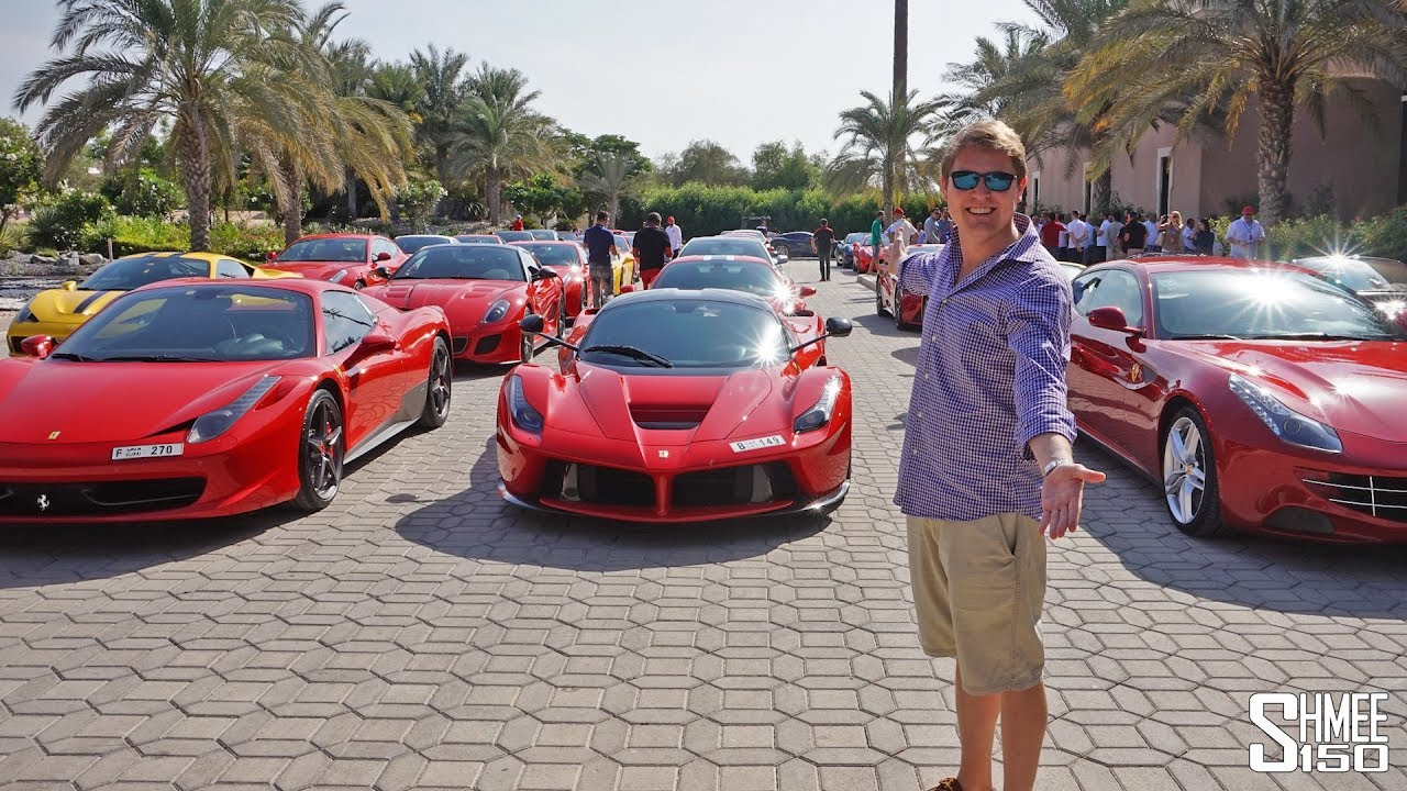 Exceptional Ferrari TAKEOVER Of Dubai! LaFerrari, F12tdf, 599 GTO   EXPERIENCE