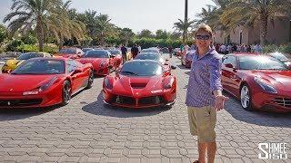Ferrari TAKEOVER of Dubai! LaFerrari, F12tdf, 599 GTO   EXPERIENCE