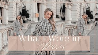 WHAT I WORE IN PARIS  &  WIN a trip to Paris!  // Fashion Mumblr