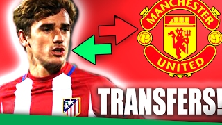 5 Most Likely Manchester United Transfer Targets Summer 2017!