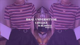 【 become admitted in ideal uni. (or college) ୨♡୧ subli…