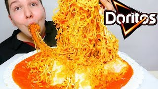 spicy cheesy noodles