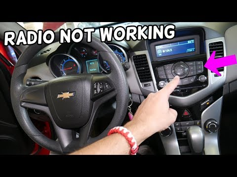 RADIO NOT WORKING ON CHEVROLET CRUZE CHEVY SONIC. WHY RADIO DOES NOT TURN ON