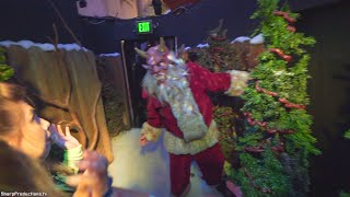 Holidayz in Hell maze at Halloween Horror Nights Universal Studios Hollywood