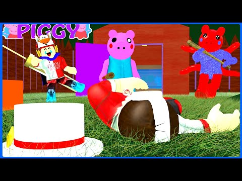PIGGY TODOS CONTRA UM #2 PLAYER+BOT😫MEGA HARD ( ROBLOX )