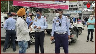 Traffic police goes digital in Jammu; violators fined through E-challan