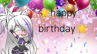 Happy birthday 🌟(obg a todos ^^)