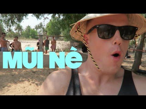 OSTRiCH RiDiNG in MŨI NÉ, ViETNAM! 😎 ☀️ The Mui Ne Travel Tour: Sand Dunes, Beaches & ATV's