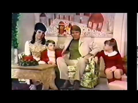 Glen Campbell & Family - Goodtime Hour Christmas 1969