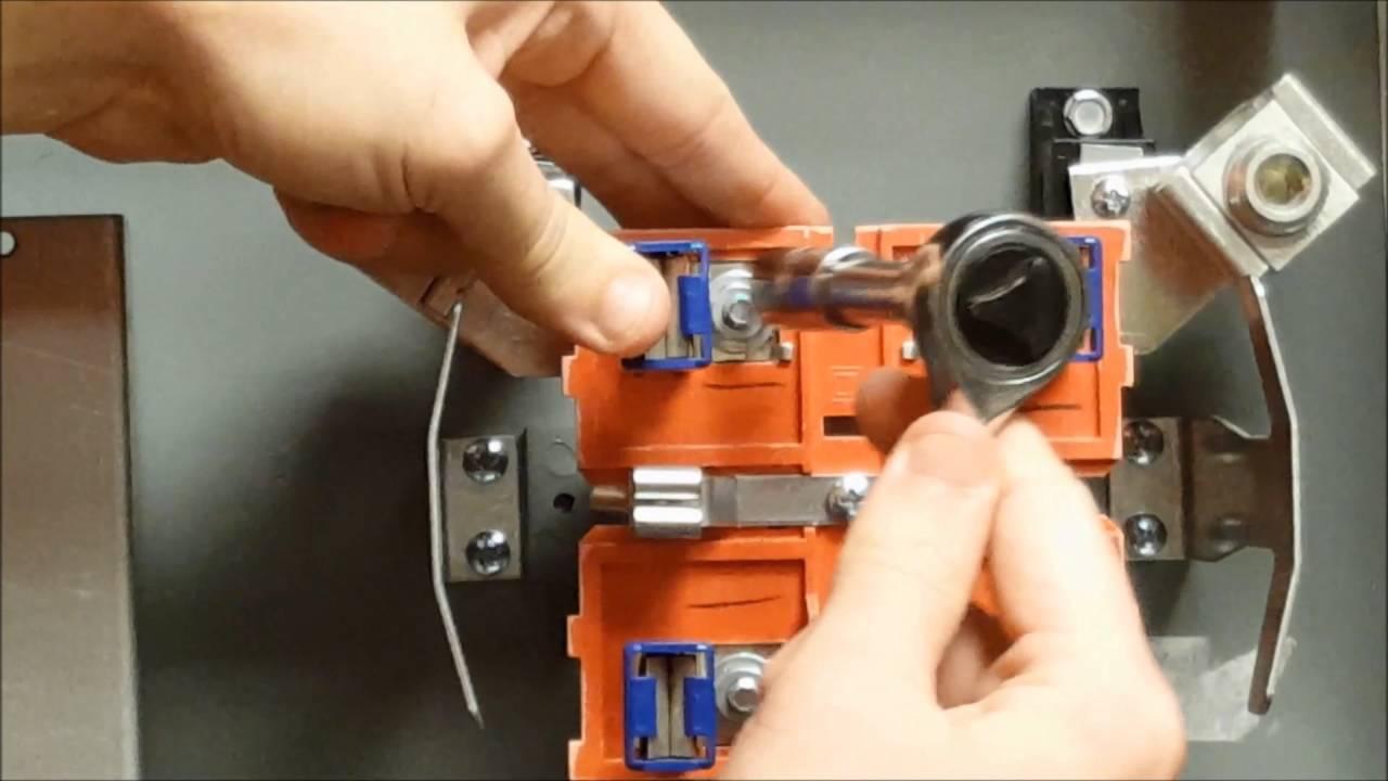 Installing a MMHB Horn Bypass Kit on Ringless Meter Socket | Schneider  Electric Support