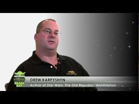 Star Wars Reads Day: Drew Karpyshyn