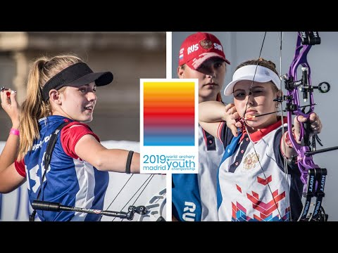 USA v Russia  compound cadet women team gold | World Archery Youth Championships 2019